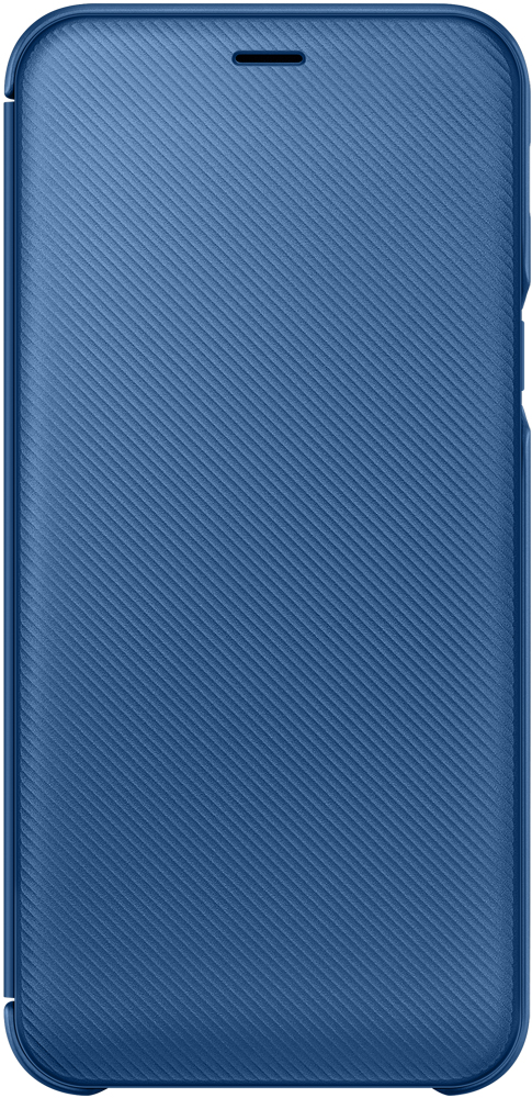 Чехол-книжка Samsung Galaxy A6 Wallet Cover Blue (EF-WA600CLEGRU) аксессуар чехол книжка samsung galaxy a6 2018 wallet cover gold ef wa600cfegru