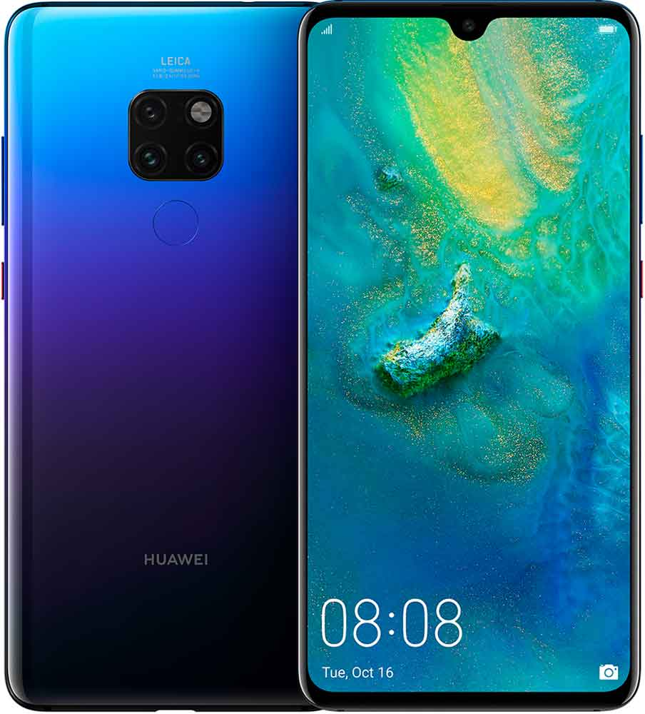 Фото - Смартфон Huawei Mate 20 6/128 Gb Purple объектив