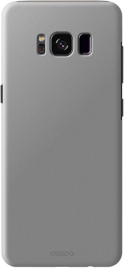 Клип-кейс Deppa Air Case Samsung Galaxy S8 Silver чехол флип кейс deppa air case для samsung galaxy a7 2016 белый [83234]