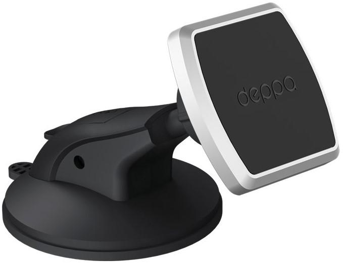 Держатель автомобильный Deppa Mage One магнитный крепление на приборную панель и лобовое стекло black держатель deppa mage one магнитный черный для смартфонов 55151