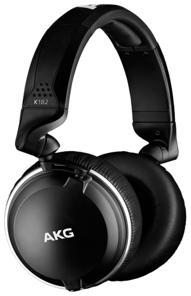 Наушники AKG K182 Black фото