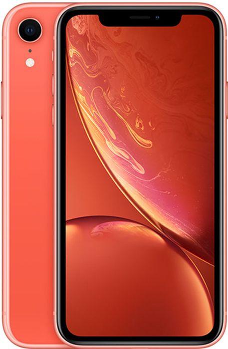 Смартфон Apple iPhone XR 256Gb Coral (Коралловый) фото