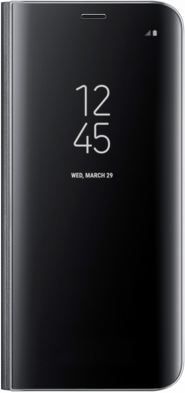 Чехол-книжка Samsung Galaxy S8 Clear View Standing Cover black чехол для samsung galaxy s8 samsung clear view standing cover ef zg955cvegru