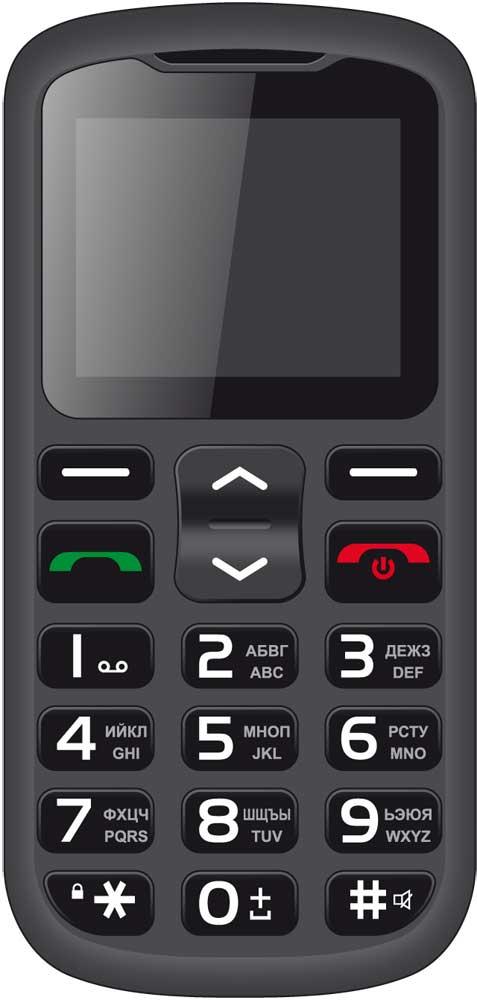 мобильный телефон irbis sf54x Мобильный телефон Irbis SF62 Dual sim Black
