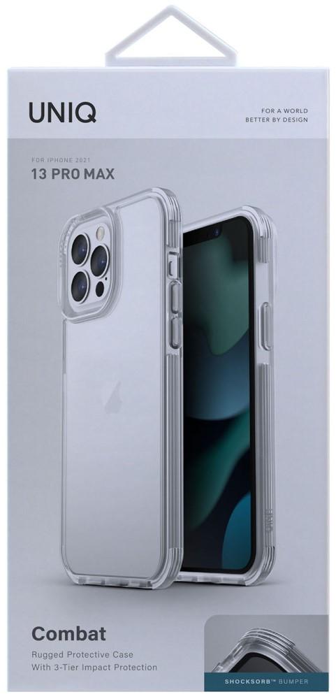 Клип-кейс Uniq iPhone 13 Pro Max Combat прозрачный фото 5
