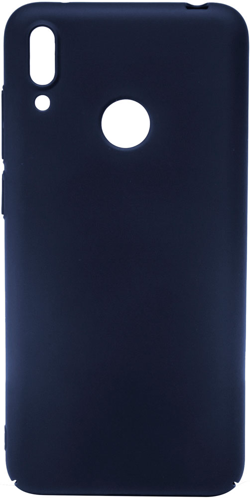 Клип-кейс MediaGadget Huawei Y7 2019 пластик Blue наушники mediagadget aero twins at400c red
