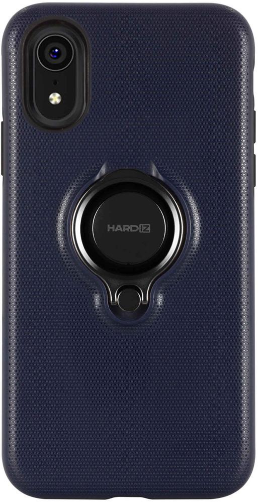Клип-кейс Hardiz Apple iPhone XR Urban с кольцом Blue клип кейс inoi prism для apple iphone xr серебристый