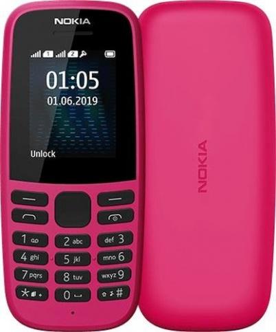 Мобильный телефон Nokia 105 2019 Pink