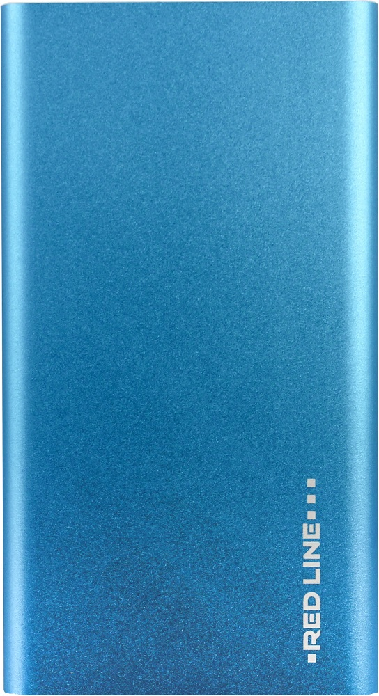 Внешний аккумулятор RedLine 4000mAh slim Blue аккумулятор casepower a34 a40 slim power booster 4000mah black case 352 black