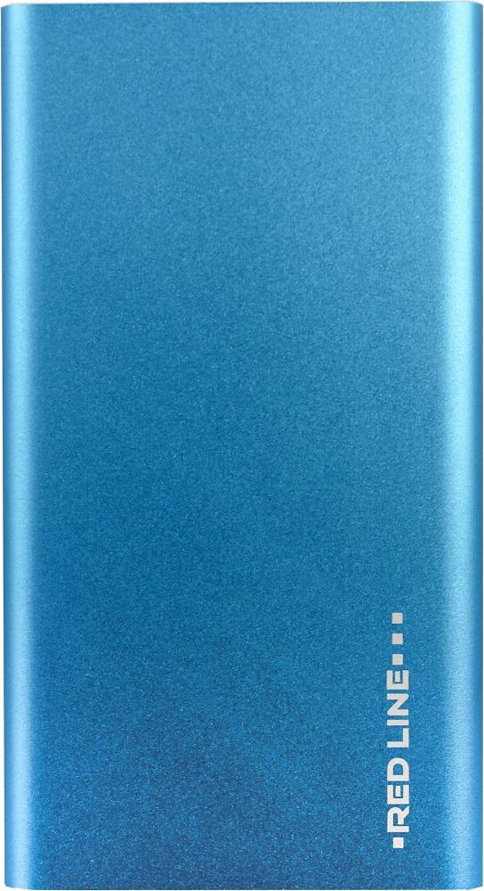 Фото - Внешний аккумулятор RedLine 4000mAh slim Blue внешний аккумулятор power bank 10050 мач asus zenpower abtu005 черный 90ac00p0 bbt076