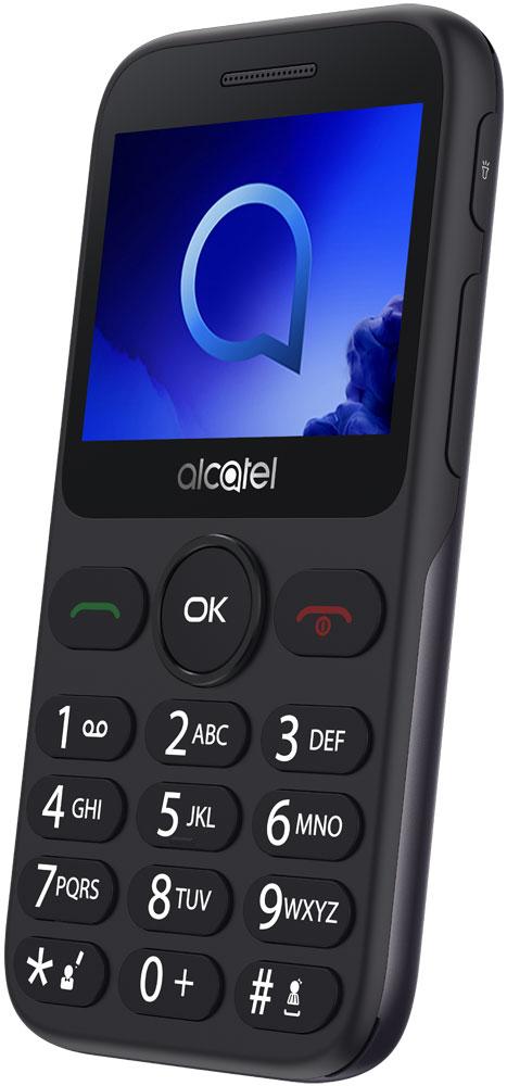 Мобильный телефон Alcatel 2019G Grey цена и фото