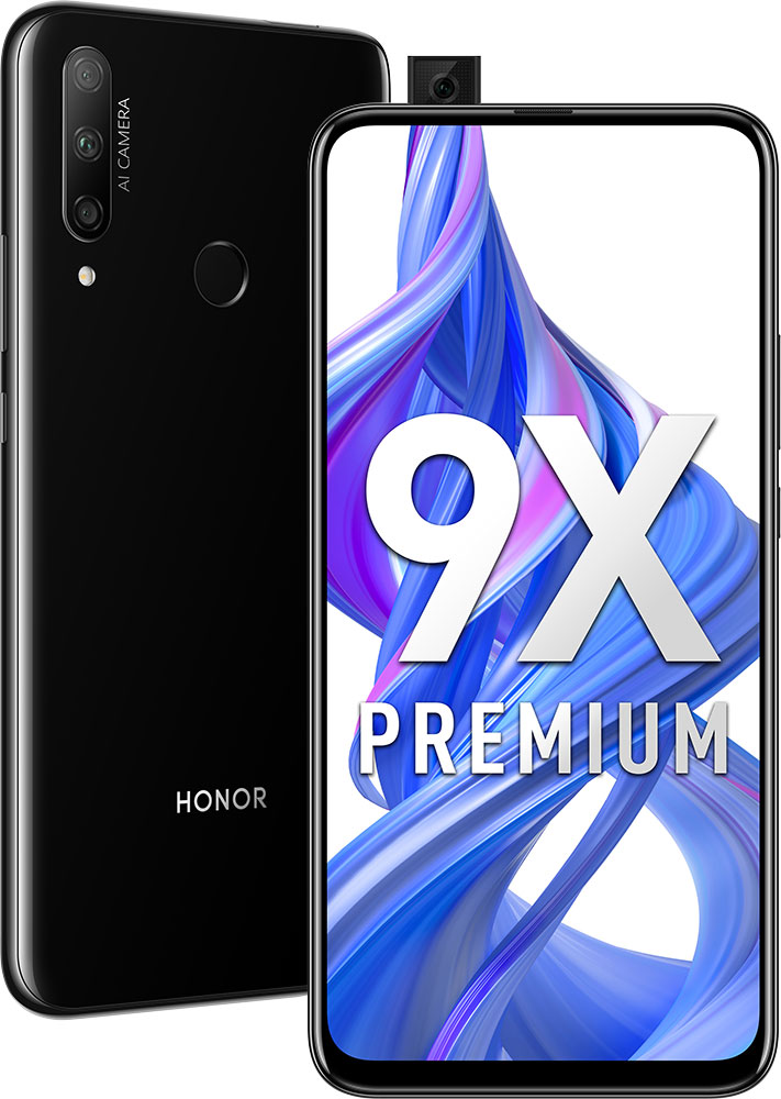 Смартфон Honor 9X Premium 6/128Gb Black фото