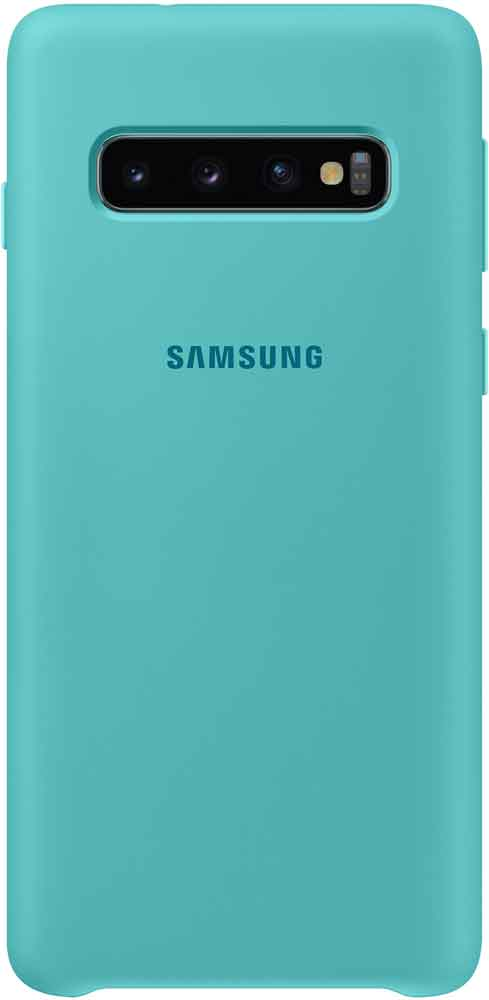 Клип-кейс Samsung Galaxy S10 TPU EF-PG973TGEGRU Green клип кейс itskins samsung galaxy s10 plus green