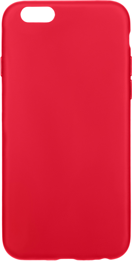 Клип-кейс Deppa Apple iPhone 6/6S TPU Red apple apple iphone 6s 64гб розовый