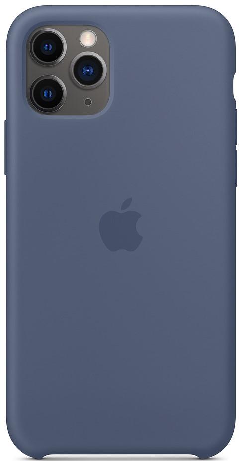 Клип-кейс Apple iPhone 11 Pro MWYR2ZM/A силиконовый синий фото