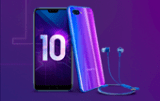Новый Honor 10 вместе с наушниками Honor Monster 2 в комплекте