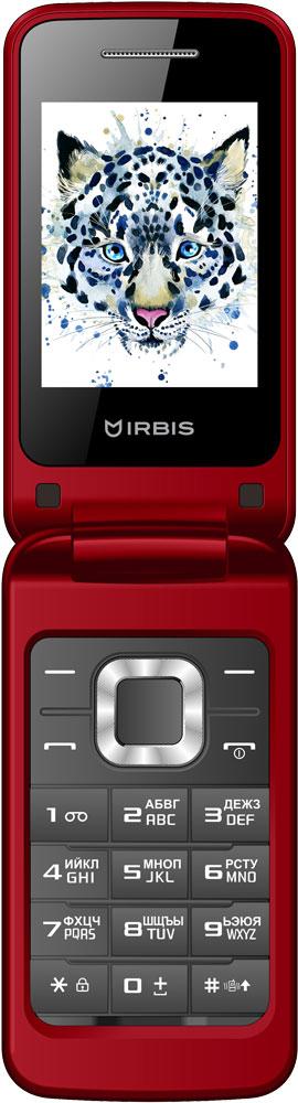 Мобильный телефон Irbis SF08 Dual sim Red фото