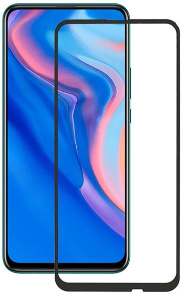 Стекло защитное RedLine Huawei P Smart Z 2019 3D Full Glue черная рамка фото