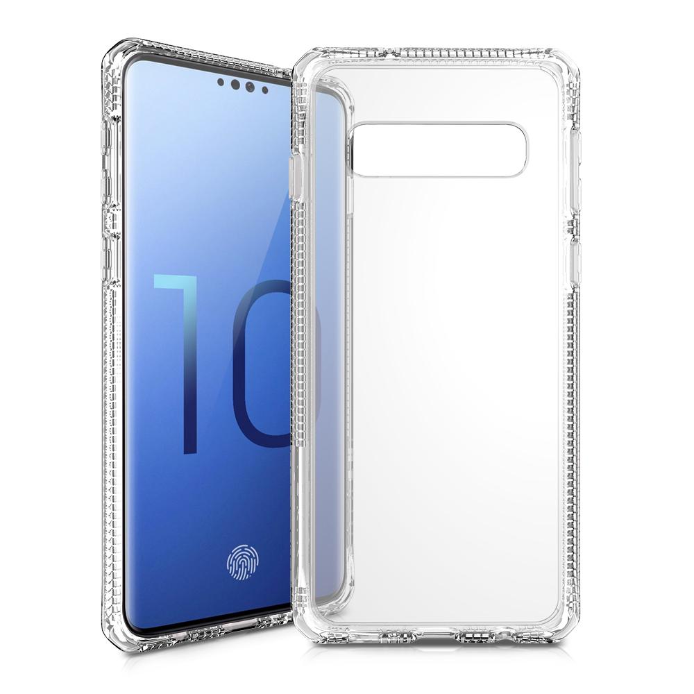 где купить Клип-кейс Itskins Samsung Galaxy S10 White дешево