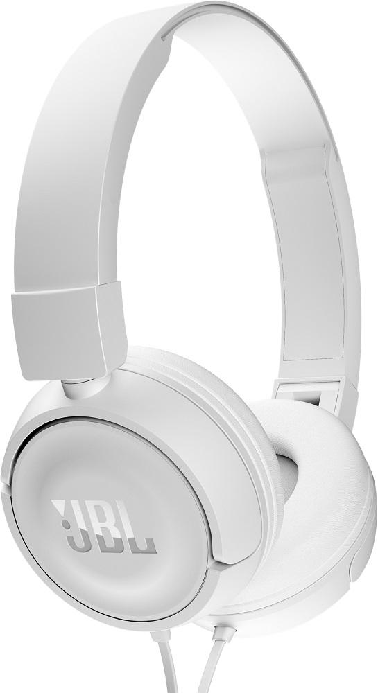 Наушники с микрофоном JBL T450 накладные white цены онлайн