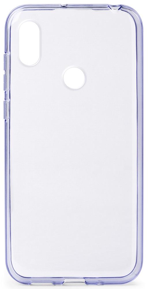 Клип-кейс Gresso Honor 8A прозрачный Purple фото