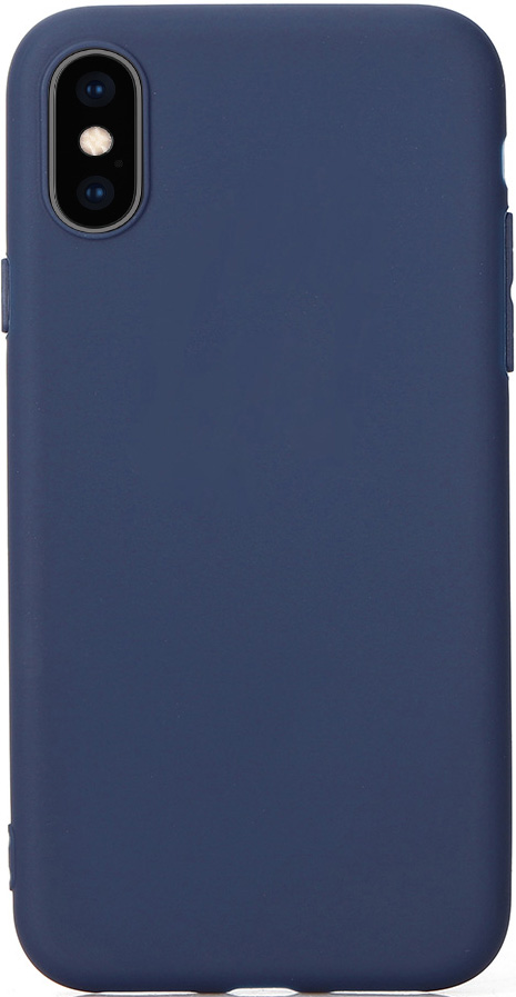 Клип-кейс Vili Apple iPhone XS Max TPU Blue клип кейс apple iphone xs силиконовый mtf92zm a blue