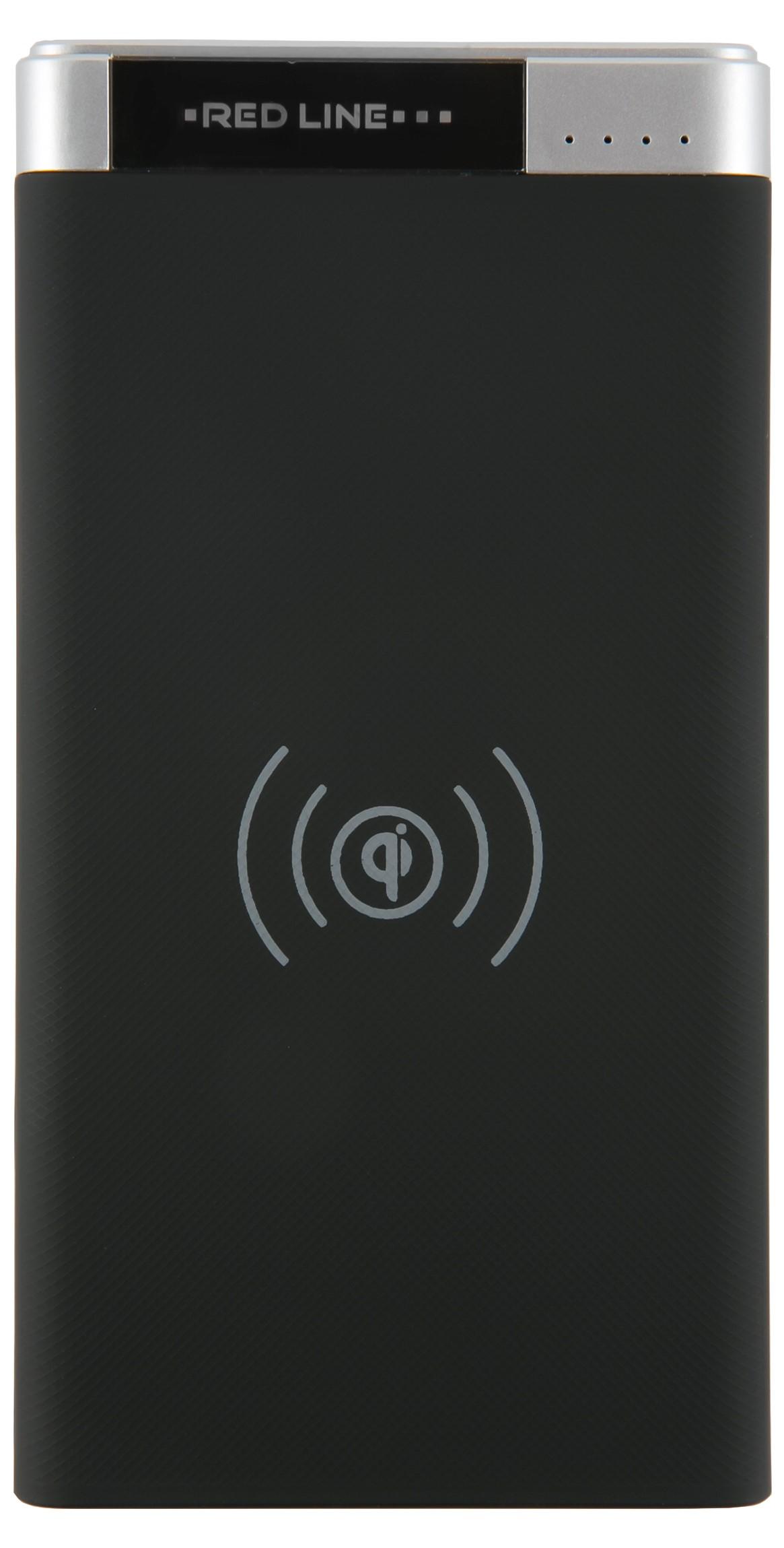 Внешний аккумулятор RedLine WS-T20 6000 mAh с функцией беспроводной зарядки black фото