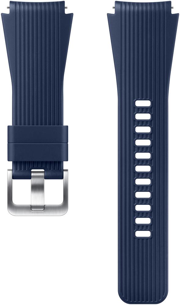 Ремешок для умных часов Samsung Galaxy Watch 46 мм Blue ремешок samsung для samsung galaxy watch 46мм samsung gear sport серый