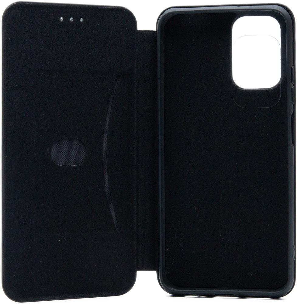 Чехол-книжка Borasco Xiaomi Redmi Note 10 ShellCase Black фото 4