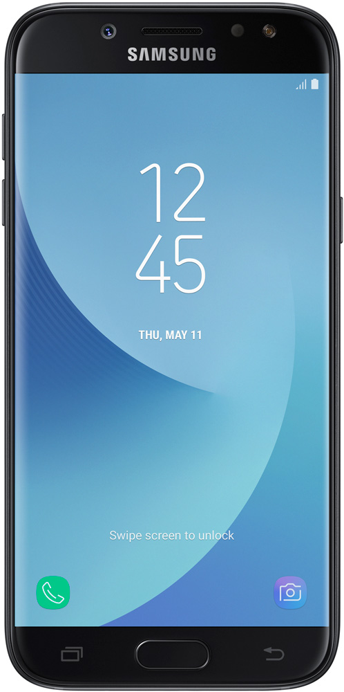 Смартфон Samsung Galaxy J5 (2017) 16GB Black SM-J530FZKNSER
