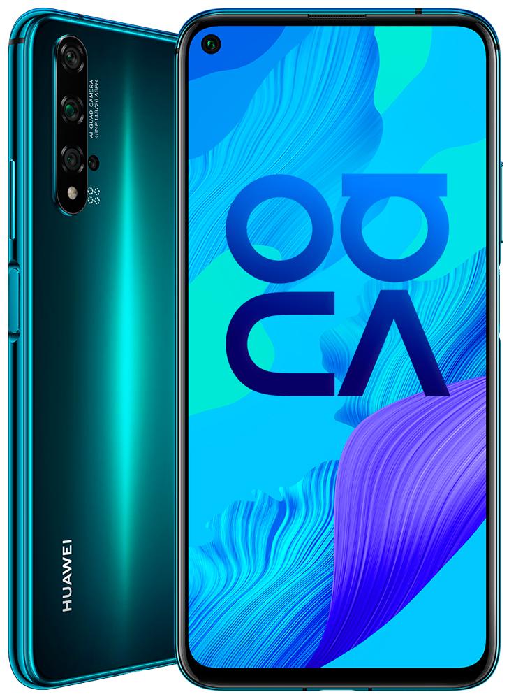 Смартфон Huawei Nova 5T 6/128Gb Green (YAL-L21)