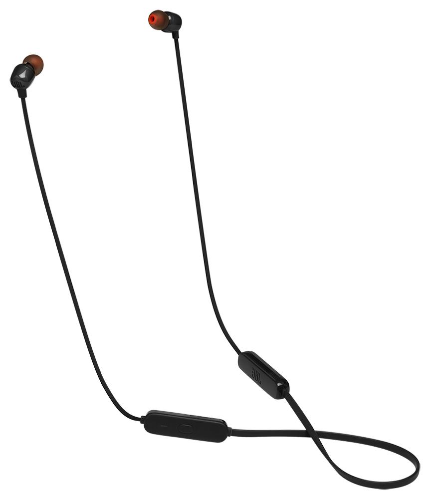 Беспроводные наушники с микрофоном JBL TUNE 115BT Black фото