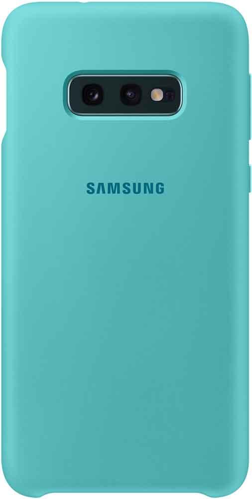 Клип-кейс Samsung Galaxy S10e TPU EF-PG970T Green клип кейс samsung galaxy s10e ef vg970l кожа black