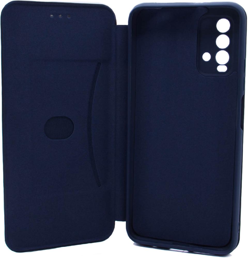 Чехол-книжка Borasco Xiaomi Redmi 9T ShellCase Blue фото 2