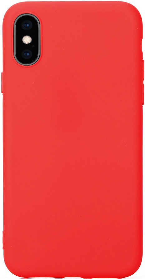 Клип-кейс Vili Apple iPhone XS Max TPU Red клип кейс vili apple iphone xr tpu red