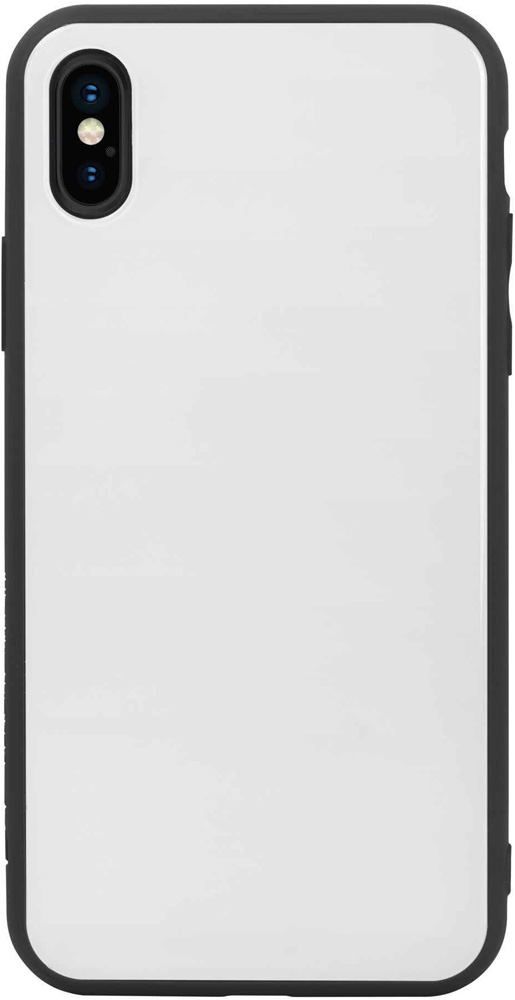 Клип-кейс Hardiz Apple iPhone XS Glass White аксессуар чехол для apple iphone xr hardiz glass case white hrd811700
