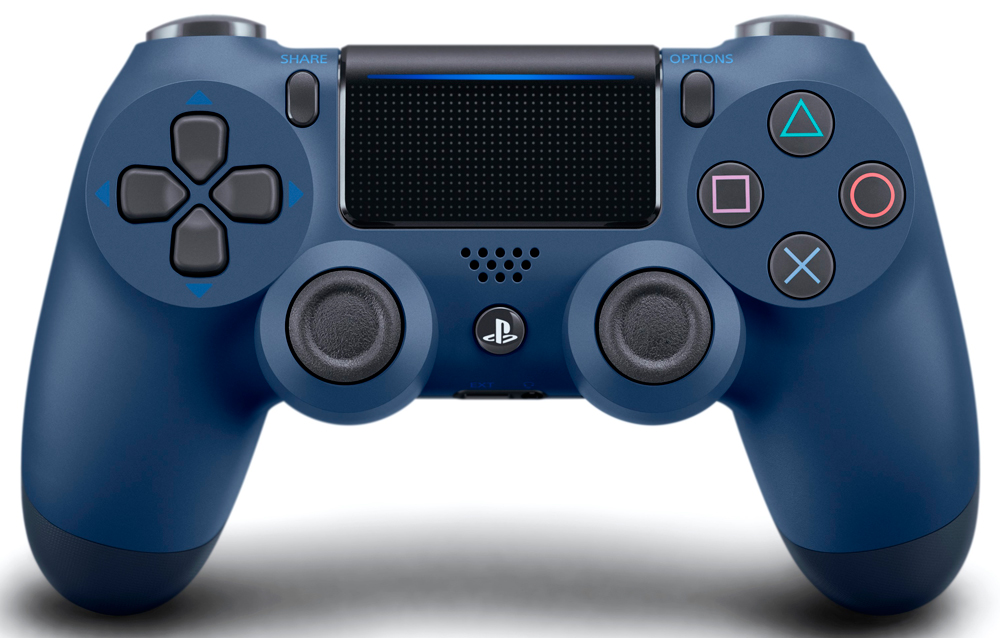 Беспроводной контроллер Sony DualShock 4 для PlayStation Blue refurbished sony playstation 3 dualshock wireless controller