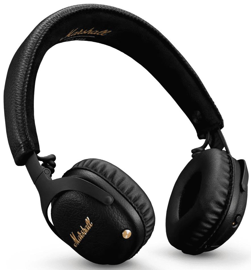 Наушники с микрофоном Marshall Mid ANC Bluetooth накладные Black headphones marshall mid anc bluetooth