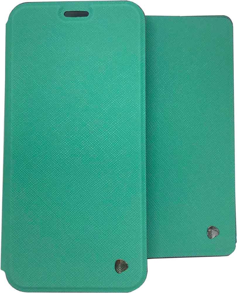 лучшая цена Набор чехлов OxyFashion Honor 8С чехол-книжка+обложка для паспорта Turquoise
