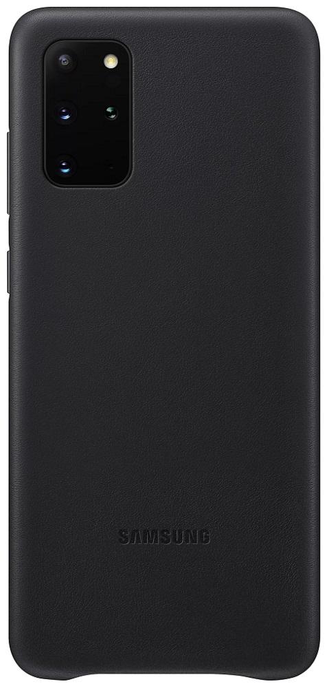 Клип-кейс Samsung Galaxy S20 Plus кожаный Black (EF-VG985LBEGRU) фото