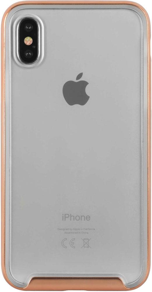 Фото - Клип-кейс Hardiz Defense iPhone X Gold объектив