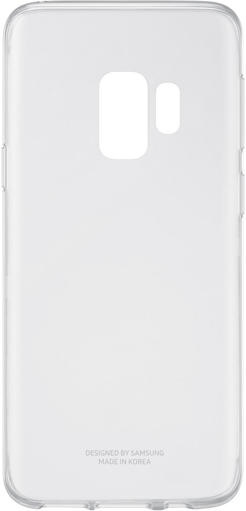 Клип-кейс Samsung Galaxy S9 Clear Cover прозрачный клип кейс samsung galaxy s9 plus silicone cover grey
