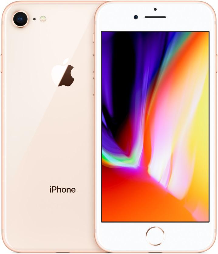 Смартфон Apple iPhone 8 128Gb Gold (Золотой) фото
