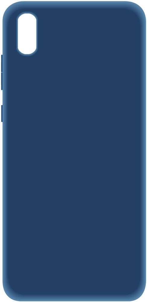 Клип-кейс LuxCase Huawei Y5 2019 силикон Blue