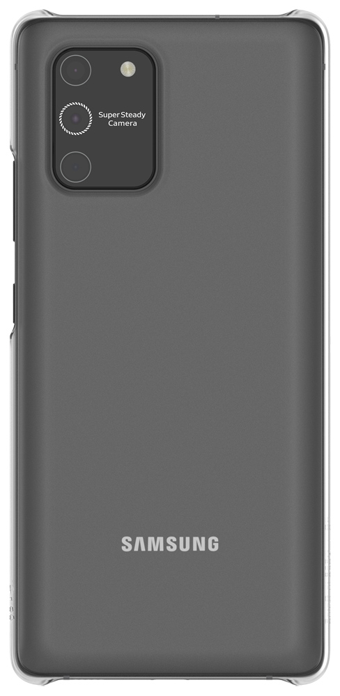 Клип-кейс WITS Samsung Galaxy S10 Lite прозрачный (GP-FPG770WSATR) фото
