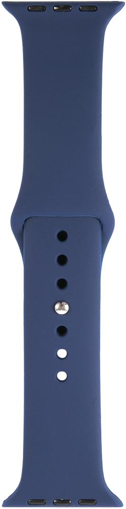 Ремешок для умных часов RedLine Apple Watch 38/40мм силиконовый Blue фото 2