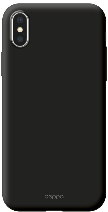 Клип-кейс Deppa Air Case для Apple iPhone X black цена и фото