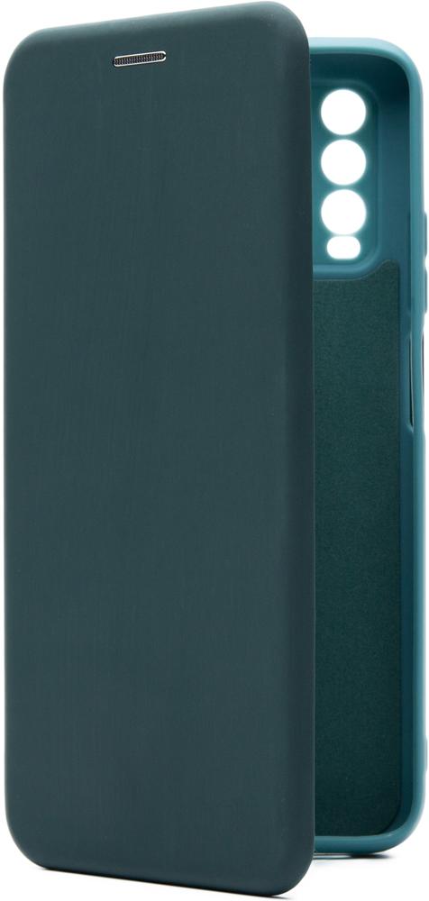 Чехол-книжка Borasco Xiaomi Redmi 9T ShellCase Green opal