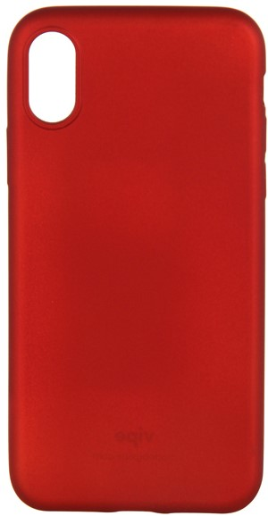 Клип-кейс Vipe для Apple iPhone XS TPU red клип кейс guess flower desire для apple iphone xs трехцветная роза