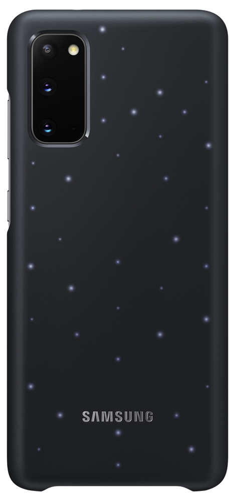 Клип-кейс Samsung Galaxy S20 Smart LED Cover Black (EF-KG980CBEGRU) фото